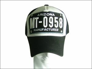 超ビッグサイズ65cmメッシュキャップ(ARIZONA)黒 帽子 メンズ 大きいサイズ