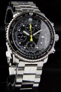 【お取寄せ】 送料無料 SEIKO メンズ 腕時計 PILOTシリーズ SNA411P1