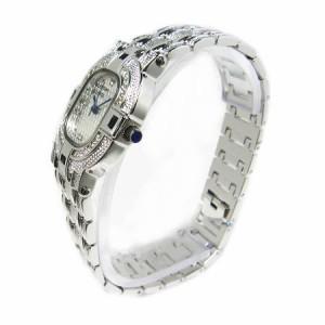 ヴァレンチノロレンタ天然サファイア使用CZダブルライン腕時計VR110SM鑑別書付き 送料無料 誕生日プレゼント ギフト