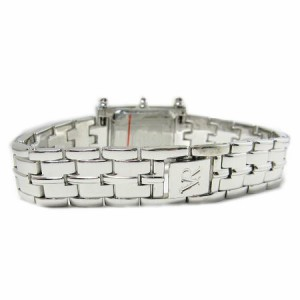 ヴァレンチノロレンタ天然エメラルド使用小さめスクエアー腕時計VR112EL鑑別書付き 送料無料 誕生日プレゼント ギフト