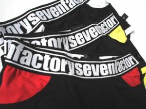 セブンファクトリー SEVEN FACTORY ポケット付ボクサーパンツ M/L