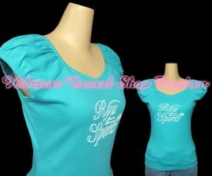 RYUSPORTS ラメロゴパフスリーブTシャツ(リュウスポーツ)