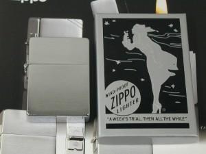 Zippo 1935レプリカ /3バレル・外ヒンジCC復刻