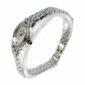 ヴァレンチノロレンタ天然ルビー使用ラウンド腕時計VR113RL鑑別書付き 送料無料