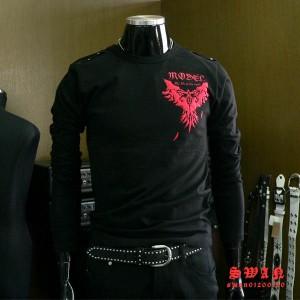 ★送料無料★元海外ブランド『MODEL』!!ロンTシャツお兄系必見です!!M/L/XL/3L【f1】