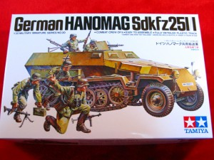 【遠州屋】 ドイツ ハノマーク兵員輸送車 兵士5体付 (MM-20) タミヤ模型★