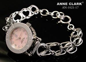 アンクラーク 時計 レディースウォッチ ハートチェーン シルバー AN-1021-17 レディース腕時計