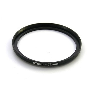 カメラ用ステップアップリング67-72mm/72-77mm等