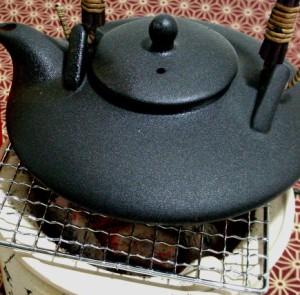 伝統の黒千代香セット5客ツル付 老松酒造 三年長期熟成麦焼酎  閻魔 720ml