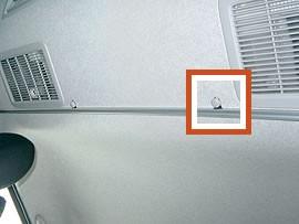 ハイエース200系/レジアスエース200系 カーテンサイドセット バンDX5ドア(リヤAC無し)対応 [受注生産品]