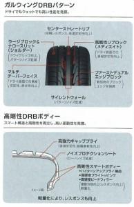 トーヨー DRB 225/40R18 88W 【交換可】【東京】【18インチ】【215-40-18 NT】