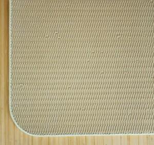 【送料無料!ポイント2%】使い込むほど深い色合い!夏の玄関に涼感と高級感を!籐 本手織りあじろ編みマット 5サイズ