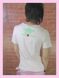 メール便送料無料 【Elmojado】Heaven&Hell蛍光プリントTシャツ!【sph-5179】