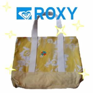 【SALE】USA版ROXY【ロキシー】♪フレッシュカラー トートバック YL