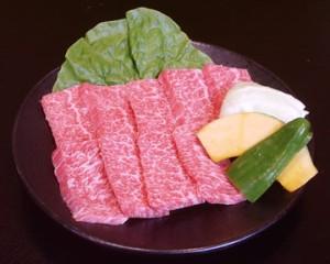 黒毛和牛 特上三角バラカルビ(タレ付) 100g