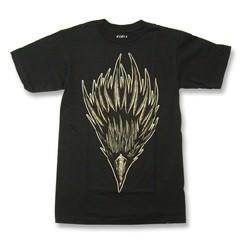 【即日発送♪】 バンズ×デニスマクネット プリントTシャツ ブラック (BUTEONA Black-Tee VANS×McNETT)