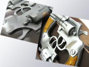 バックル★拳銃