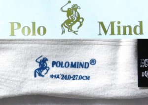 POLO靴下■20足■ホワイト 【ポロ/ソックス/下着/衣類/服/チェック/フリーサイズ/フォーマル/カジュアル】