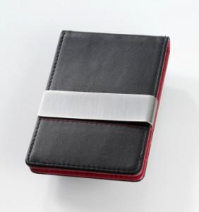 マネークリップ付ビジネスカードケース RED PEPPER CCC32/LE 【トロイカ/TROIKA】