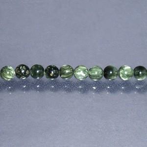 【セラフィナイト 6mm】 天然石ビーズ(丸) 10玉セット /天然石 パワーストーン アクセサリー バラ売り ばら売り 粒売り クリノクロア