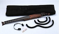 ARIA Sinsonido サイレントギター AS-101S Steel Strings SBK【z8】