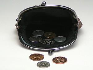 和柄がま口財布大 小銭入れ コインケース メンズレディース 日本製 和風おしゃれカジュアル かわいい 大きいサイズ便利 小物入れ(色K4)