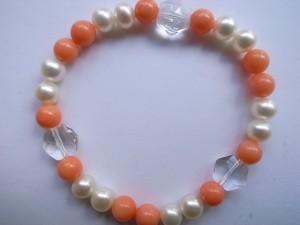 コーラルと真珠のブレス 海からの贈り物