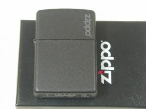 Zippo ブラックマット(黒 無地)ジッポーロゴ#R
