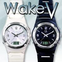 送料無料【強力振動目覚まし腕時計Wake V(ウエイクブイ)】目覚まし時計、目覚まし 時計、腕時計 目覚まし、目覚まし 振動