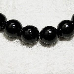 【10月の誕生石】10mm 17cm〜19cm ブラックトルマリンパワーストーンブレスレット (M〜LLサイズ) 心身の活性化・長寿・健康運UP天然石