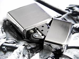 ZIPPO ジッポ アーマープラチナプレーティングジッポー サテン仕上げ#162PTS【zippo/ジッポ/Armor/アーマー/ARMOR】