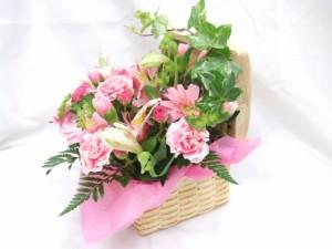 母の日★かわいいランチピンクアレンジ4,500円【送料無料】ネット特価!
