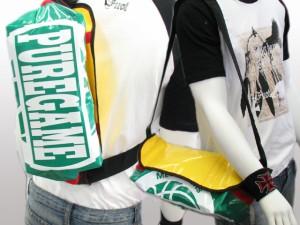 【送料無料★1,000円】テント地底マチプリントメッセンジャーバッグgrye