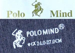 POLO靴下20足■ブラック 【ポロ/ソックス/下着/衣類/服/チェック/フリーサイズ/フォーマル/カジュアル】