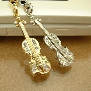 ファンタジアミュージック携帯ストラップ/バイオリン