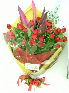 6月誕生花★バラの花束10,000円【送料無料】