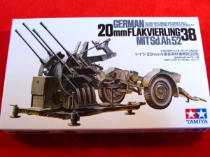 ■遠州屋■ ドイツ2cm 4連高射砲 タミヤ(MM-91) (R)★