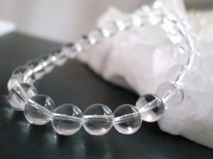 最高級天然本水晶ブレス SAグレード8mm