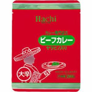 ハチ食品カレー専門店のビーフカレー大辛30個セット