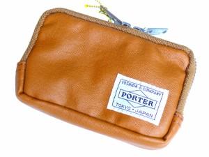 ポーター 吉田カバン FREE STYLE フリースタイル コインケース キャメル 707-07178