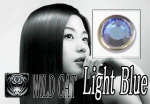 ボディピアス WILD CAT  16Gスクリュー Ltブルー