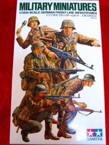 ■遠州屋■ ドイツ歩兵 アタックチームセット タミヤ (MM-196)★