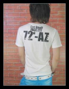 メール便なら送料無料!Elmojado】だましフォトプリ&蛍光ロゴTシャツ!【sph-5180】
