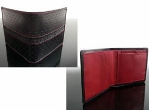 財布【二つ折りサイフ】エイ革ライン CL-765