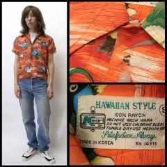 VINTAGE Kmart Hawaiian style (60's〜70's) size S