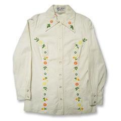 ウエスタンシャツジャケットレディース sizeS