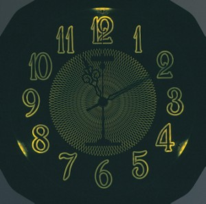 リズム時計工業 CITIZEN シチズン 自動点灯機能付 電波壁掛け時計ネムリーナピュアM655 4MY655-006 茶色(白) ライト付き アナログ 掛時計