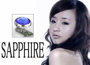 【送料無料】メール便 安心品質ボディピアス マイクロダーマル SAPPHIRE
