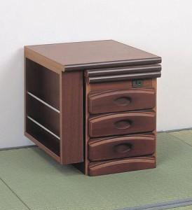 【送料無料!ポイント2%】ワンタッチの折りたたみ式!フロアスタイルにぴったり!NEW天然木ワンタッチ文机