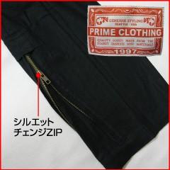 プライムクロッシング ストレッチブッシュ カーゴパンツ ブラック (PRIME CLOTHING)